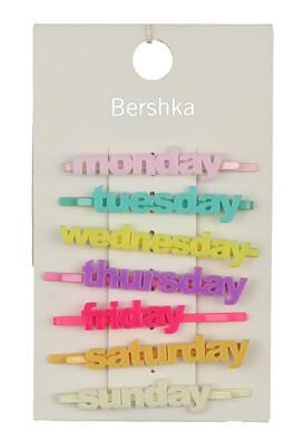 Set agrafe Bershka Tina Colors
