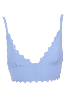 Top ZRA Erin Light Blue