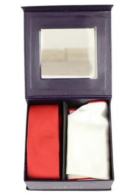 Set cravata cu batista Pier One Pablo Red