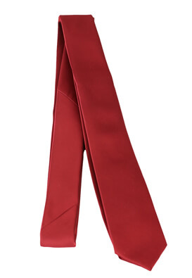 Cravata Pier One Freddy Dark Red