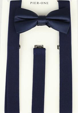 Set papion cu bretele Pier One Freddy Dark Blue