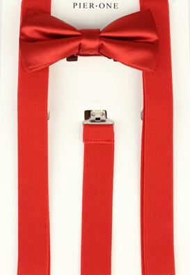 Set papion cu bretele Pier One Cole Red