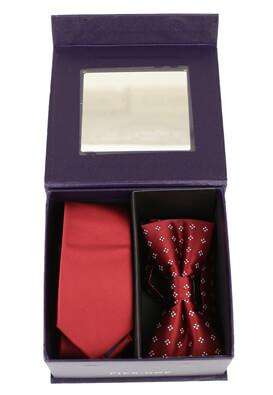 Set cravata cu papion Pier One Tobias Dark Red