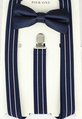 Set papion cu bretele Pier One Donald Dark Blue