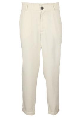 Pantaloni ZRA Ella Light Grey