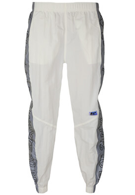 Pantaloni sport Bershka Hailey White