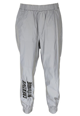 Pantaloni Bershka Donna Grey