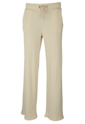 Pantaloni Bershka Lois Light Beige