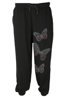 Pantaloni sport Bershka Florence Black