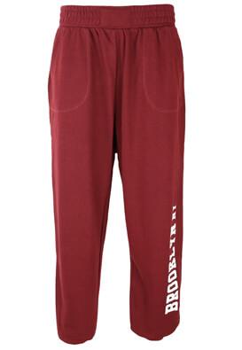 Pantaloni sport Bershka Janine Dark Red
