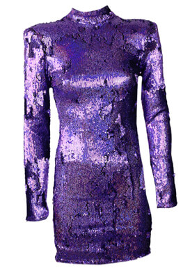 Rochie Bershka Gloria Purple