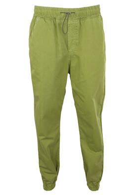 Pantaloni ZRA Fay Dark Green