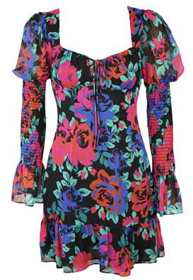 Rochie Bershka Floral Colors