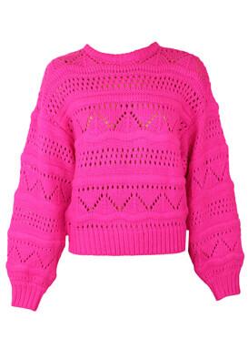 Pulover Bershka Nicole Light Pink