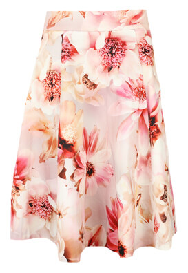 Fusta Orsay Floral Pink