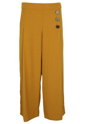 Pantaloni ZRA Hailey Dark Yellow