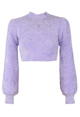 Bluza Bershka Whitney Light Purple