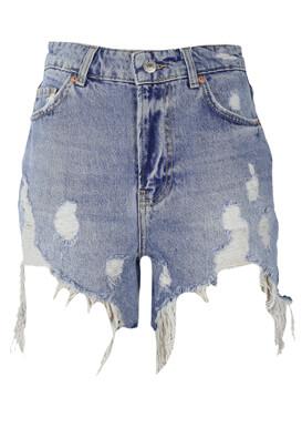 Pantaloni scurti Bershka Lois Light Blue