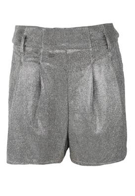 Pantaloni scurti Bershka Lucy Silver