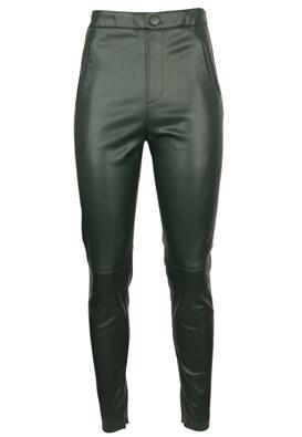 Pantaloni ZARA Victoria Dark Green