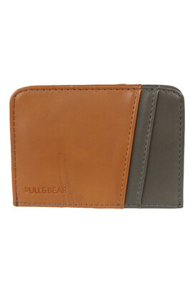 Port card Pull and Bear Harvey Brown