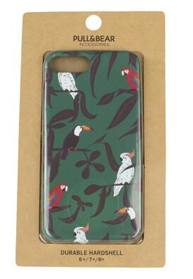 Husa telefon Pull and Bear IPhone6Plus/7Plus/8Plus Dark Green
