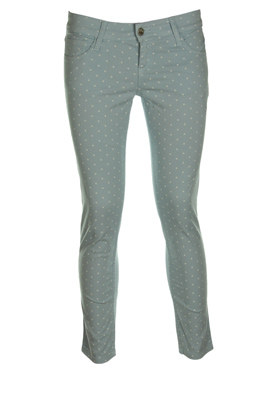 PANTALONI STRADIVARIUS DIVA LIGHT BLUE