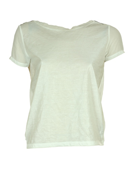 TRICOU STRADIVARIUS MARGOT WHITE