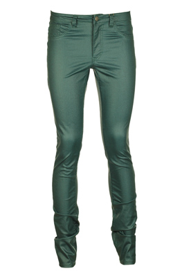 PANTALONI VILA FRENZY DARK GREEN