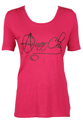 TRICOU ONLY SIMPLE DARK PINK