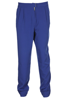PANTALONI STRADIVARIUS OPHTA DARK BLUE