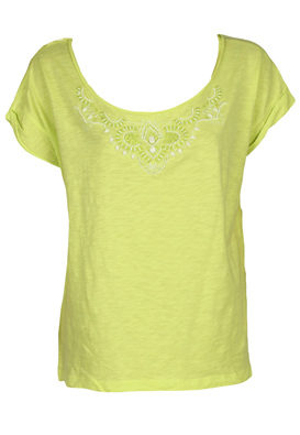 TRICOU STRADIVARIUS ADRIANNE LIGHT GREEN