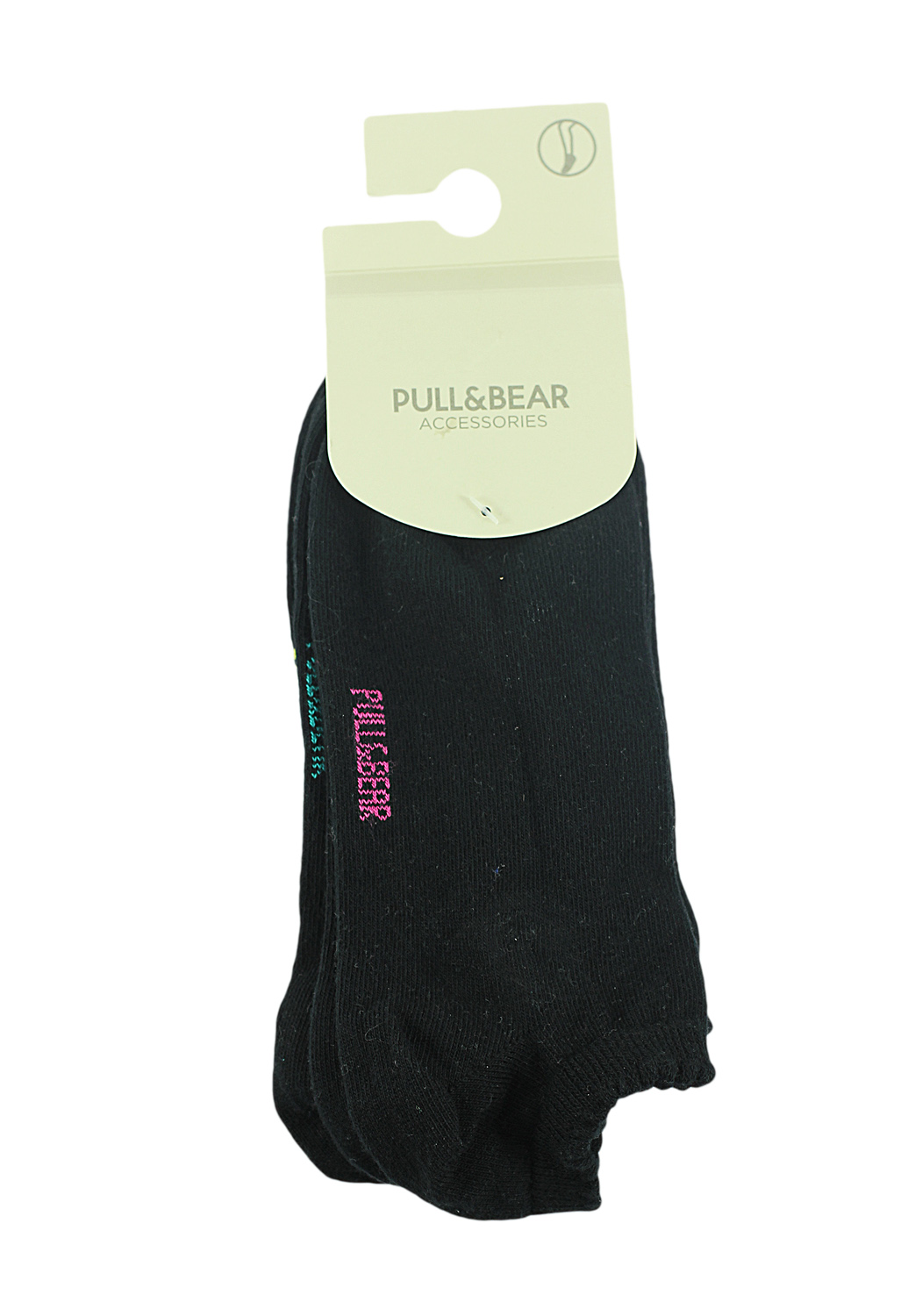 Sosete Pull and Bear Note Black
