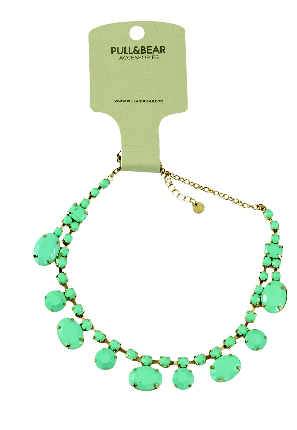 Colier Pull and Bear Dante Light Green