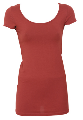 TRICOU PIECES WHIS DARK RED