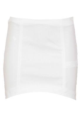 FUSTA ZARA SIMPLE WHITE