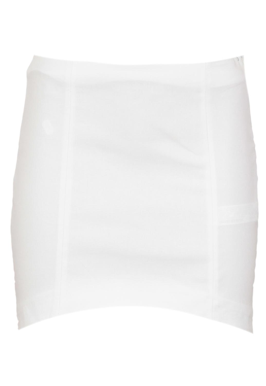 Fusta ZARA Simple White