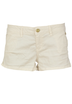 PANTALONI SCURTI STRADIVARIUS PONDO LIGHT BEIGE