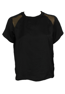 TRICOU ZARA GATLES BLACK