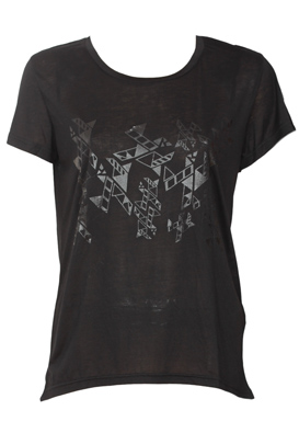 TRICOU OBJECT LADUNE BLACK