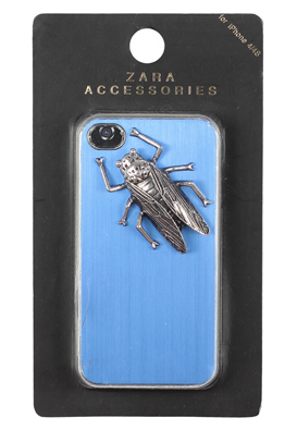 HUSA IPHONE 4 ZARA UNIA BLUE