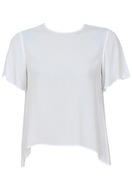 TRICOU ZARA BASIC WHITE