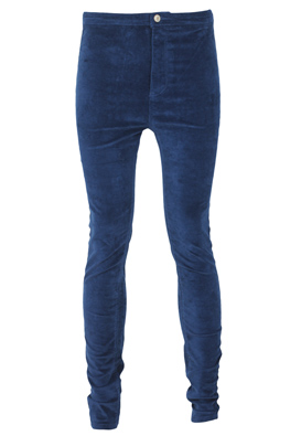PANTALONI PULL AND BEAR COLLECTION TURQUOISE