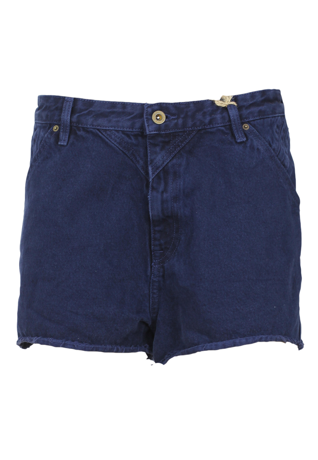 Pantaloni scurti Pull and Bear Collection Dark Blue