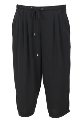 PANTALONI SCURTI PULL AND BEAR COLLECTION BLACK