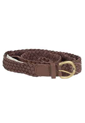 CUREA PIELE PULL AND BEAR OUTY DARK BROWN