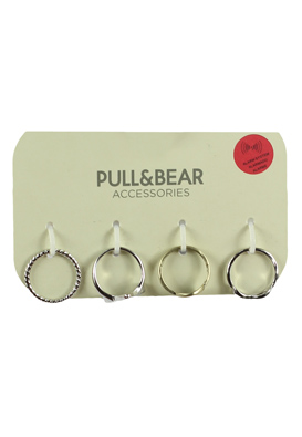 CERCEI PULL AND BEAR COLLECTION SILVER
