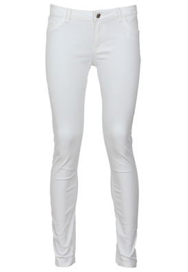 PANTALONI BERSHKA TINER WHITE