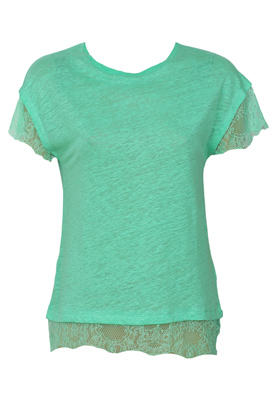 TRICOU ZARA FILTER GREEN