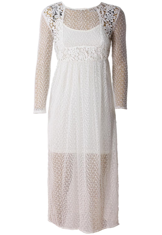 Rochie Vero Moda Simple White